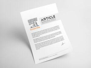 مقاله Elsevier